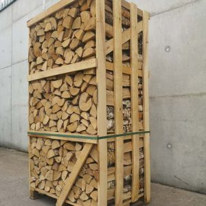 crate of kiln dried birch