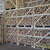 Stacks of kiln dried crates